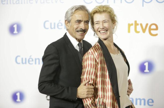 Imanol Arias y Ana Duato, en una imagen reciente.
