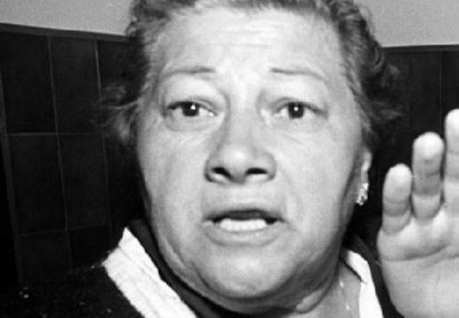 Josefa Charlin durante una comparecencia en 1992.