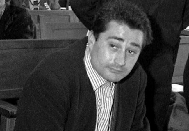 Manuel Charlín Pomares durante el juicio del caso Nécora