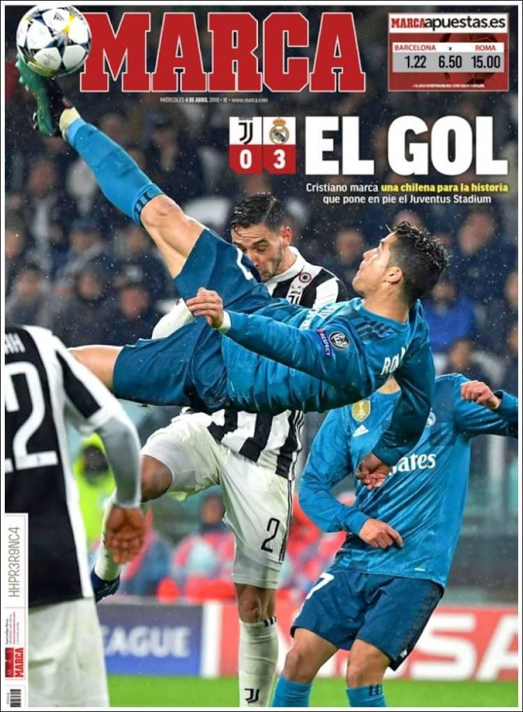 MARCA: El gol