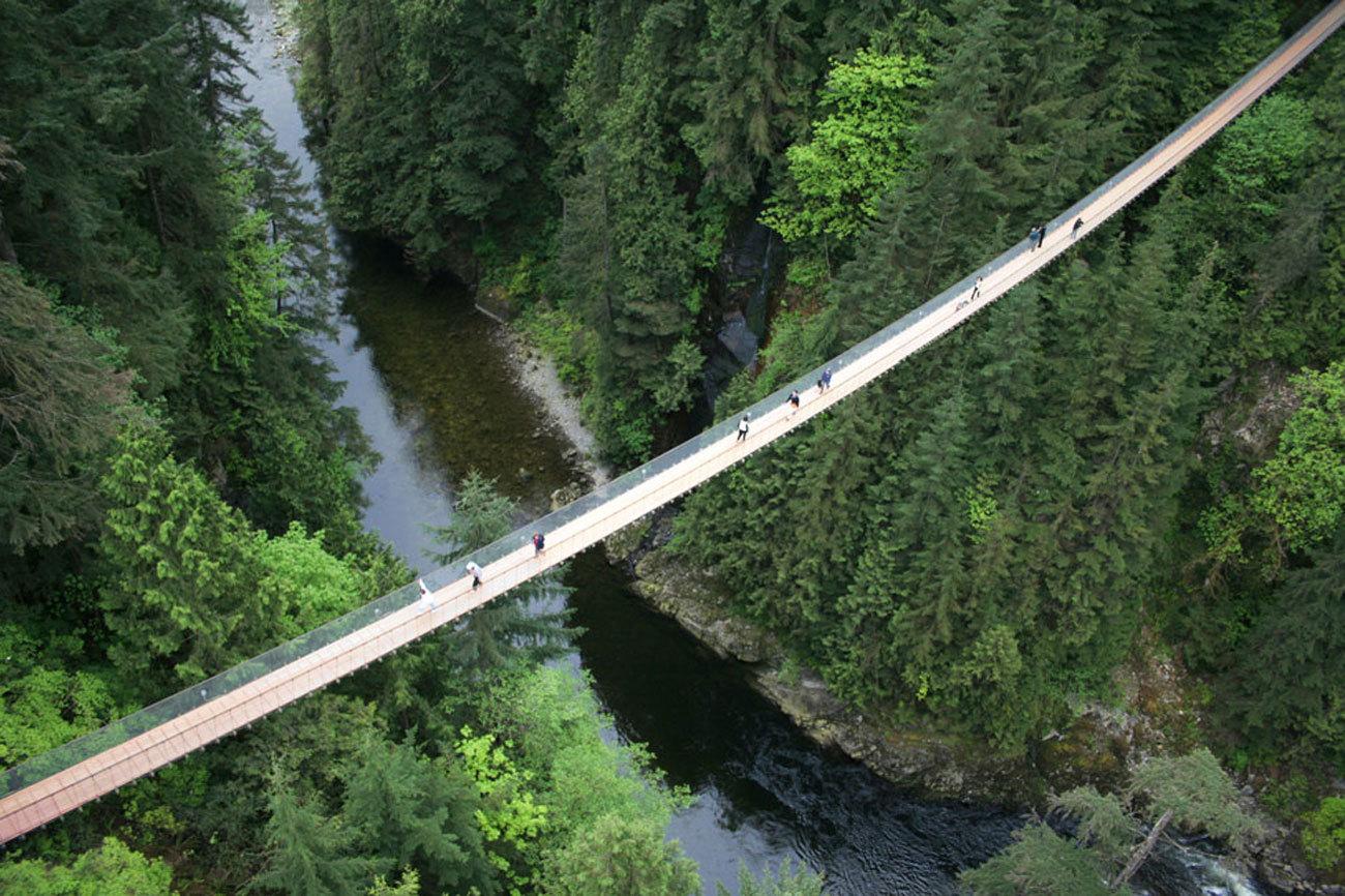Vancouvert esconde uno de los puentes más populares del...