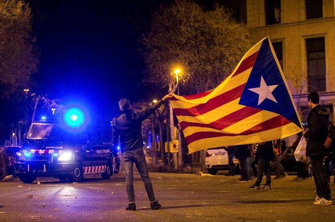 Incidentes en Cataluña.