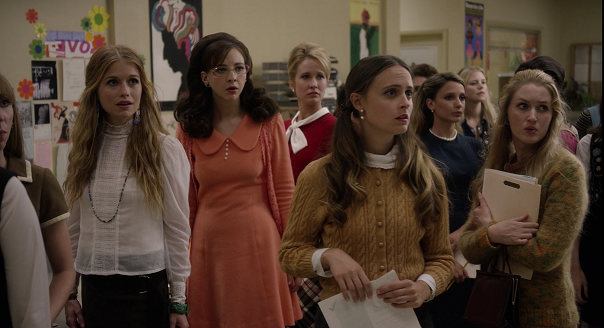 Fotograma de la serie 'Good Girls Revolt'.