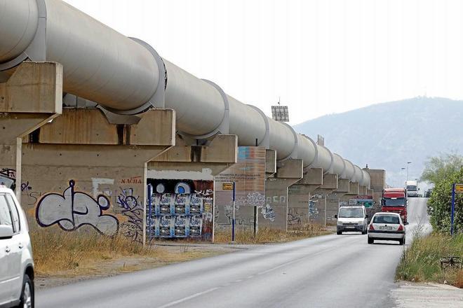 Canalizaciones del trasvase Tajo-Segura en la provincia de Alicante