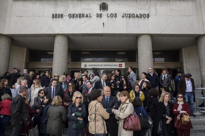 Concentración de jueces y fiscales en los juzgados de Plaza de...