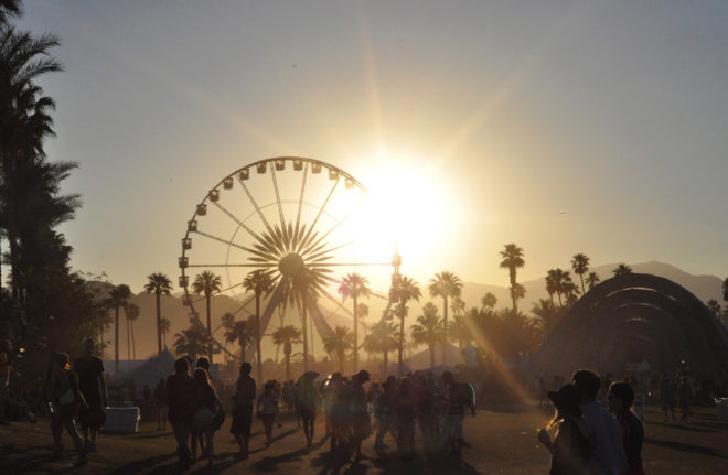 El mítico festival de Coachella es una opción sólo para los más...