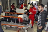 Decenas de heridos tras el ataque químico en Damasco.