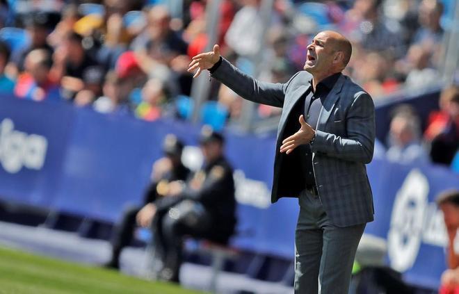El entrenador del UD Las Palmas, Paco Jémez.