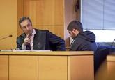 Sergio Díaz, el pasado mes de marzo, durante el juicio en Santa Cruz...