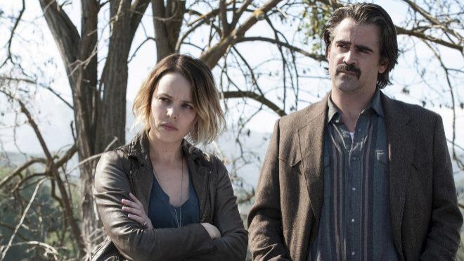 Colin Farrell y Rachel McAdams en 'True Detective'.