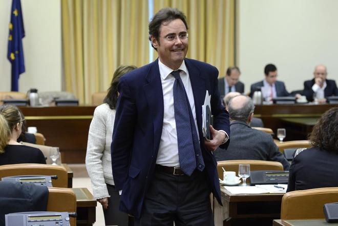 Jorge Toledo, secretario de Estado para la UE, en una comparecencia en...