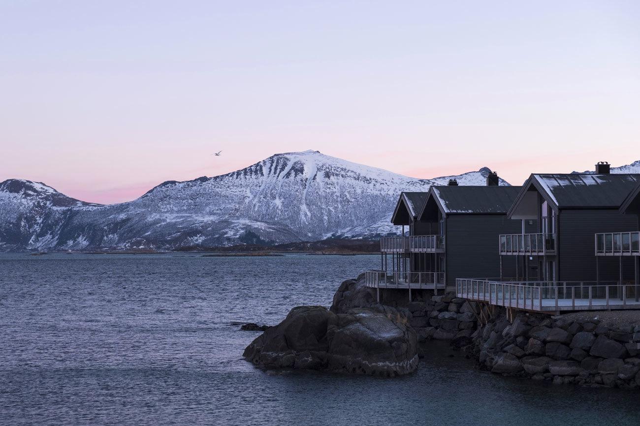 En Senja, la segunda isla en extensión de Noruega, casi todos los...