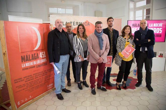 Presentación de la cuarta edición de  Málaga 451 en La Térmica