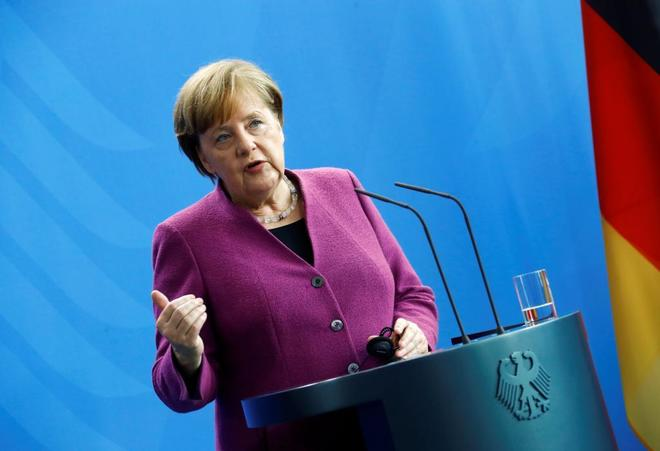 Merkel avanza que Alemania no participará en un eventual ataque a Siria