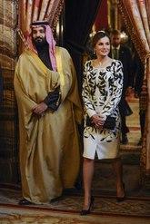 La Reina estrenó el vestido en 2106 y lo llevó por segunda vez un...