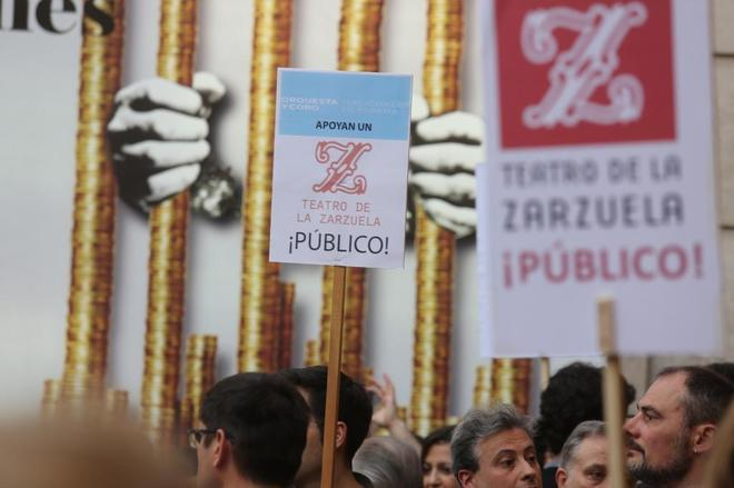 El World Opera Forum arranca en el Teatro Real entre las protestas de los trabajadores de la Zarzuela
