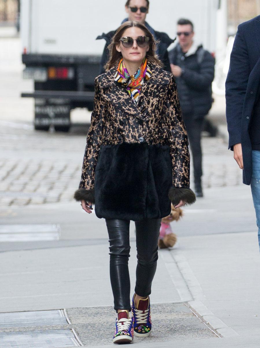La it girl neoyorquina a la última con este look compuesto por...