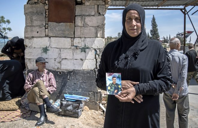 ATAQUE A SIRIA: La explanada de los desaparecidos de la guerra siria
