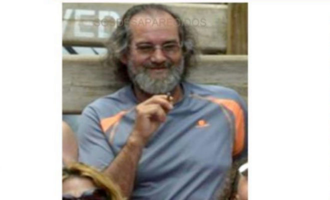 Fotografía del hombre desaparecido en Pozuelo.