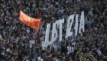 Manifestación en Pamplona pidiendo la libertad de los procesados por...