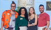 Eduardo, Luisa, Alicia y Antonio, finalistas de Maestros de la...