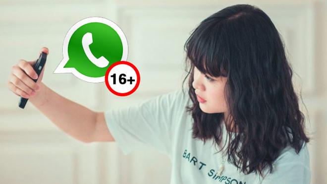 WhatsApp prohíbe su uso a menores de 16 años