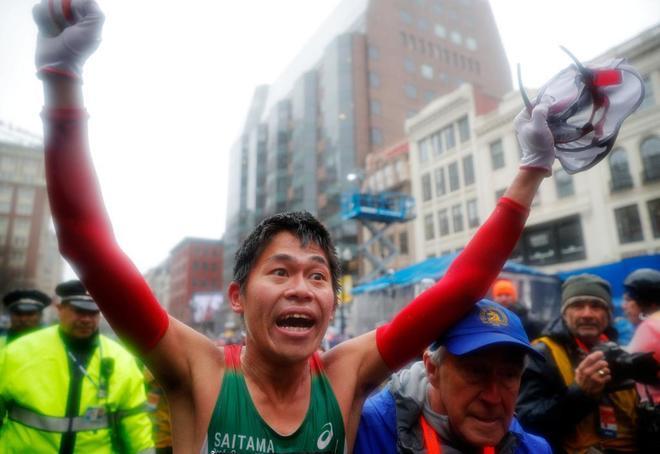 Yuki Kawauchi, el 'conserje' de instituto, gana su primer maratón 'major' bajo la tormenta en Boston