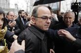 Jordi Turull, el pasado 23 de marzo, al llegar al Tribunal Supremo...