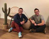 Mateo y Lucas Ocón, de 29 años, los primeros gemelos transexuales de...