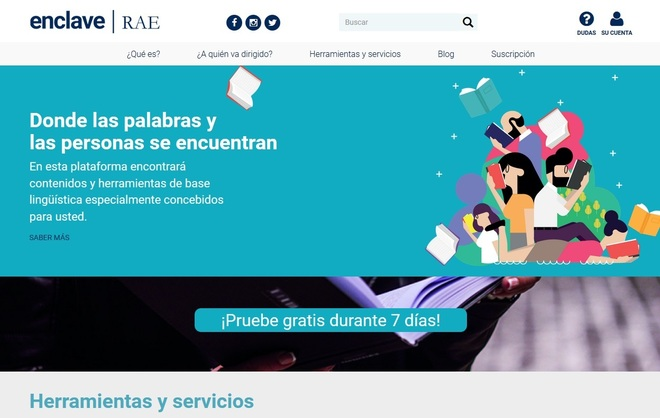 'Enclave', la nueva herramienta digital de la RAE