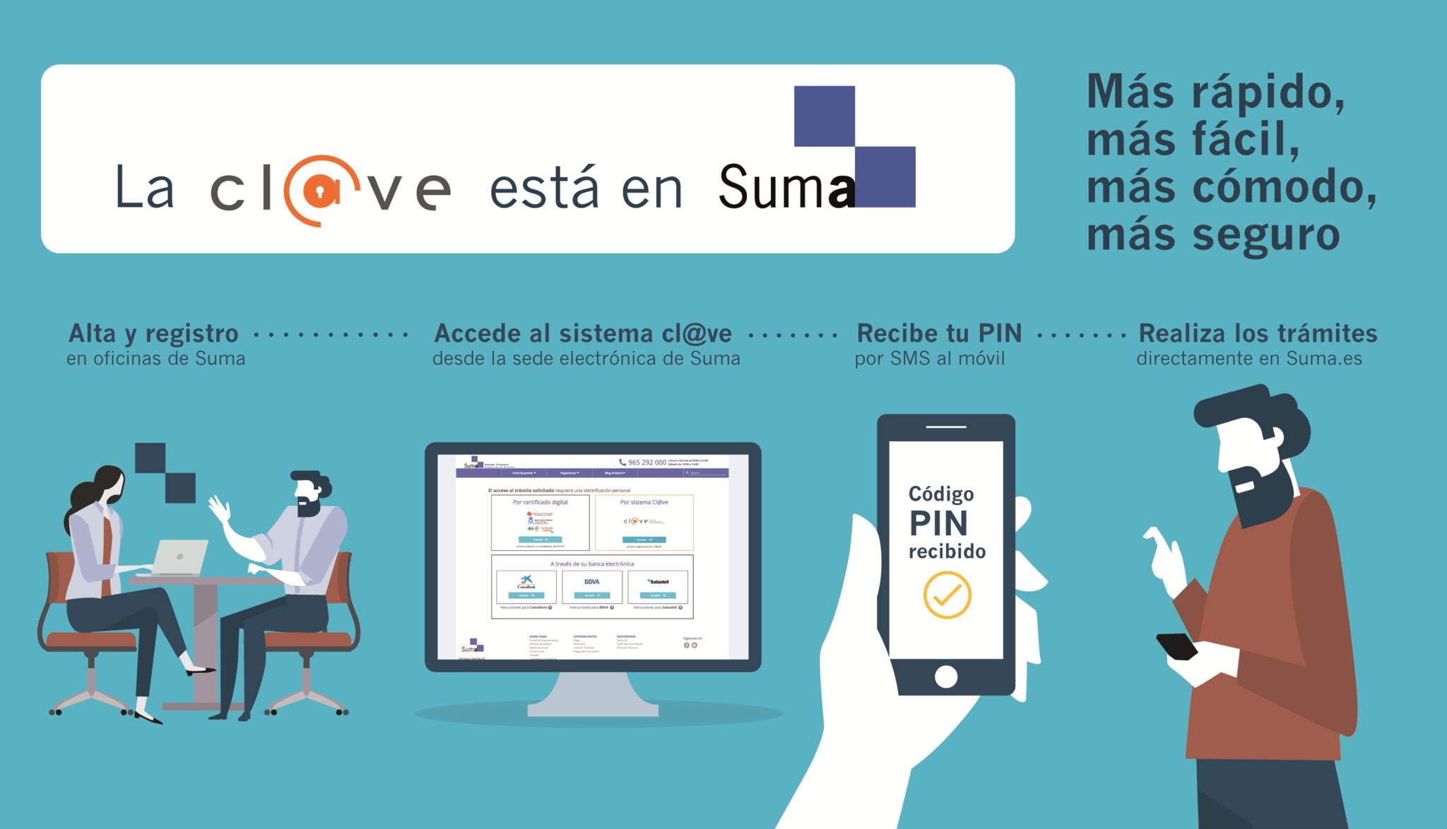 Suma integra el sistema cl ve y se convierte en oficina de for Oficina de gestion tributaria