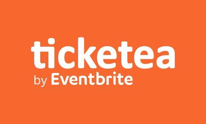 Logo proporcionado por Ticketea tras hacer oficial su unión a Eventbrite.