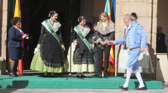 El presidente de la Junta de Fiestas de Castellón, Juanvi Bellido, en uno de los actos celebrados la pasada Magdalena.