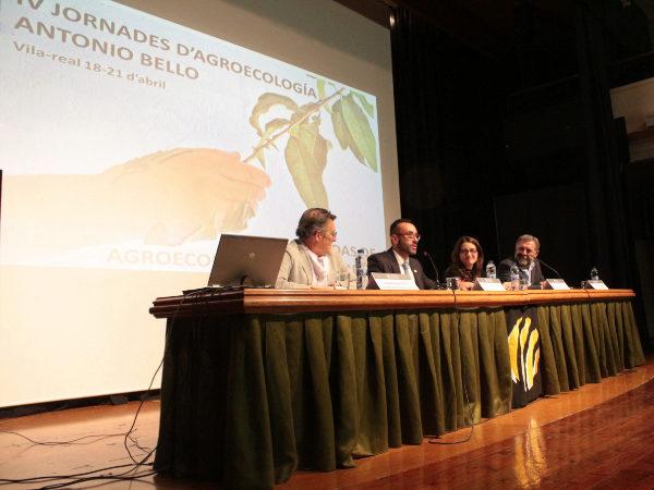El alcalde de Vila-real, José Benlloch, durante la presentación