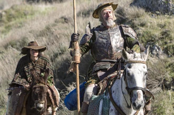 Imagen de 'El hombre que mató a Don Quijote', del director estadounidense Terry Gilliam.