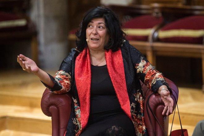 La escritora y periodista Almudena Grandes estará en la Real Casa de...