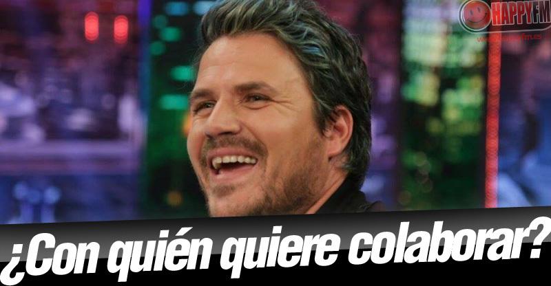 Dani Martín quiere colaborar con Amaia y lo ha dejado claro en 'El Hormiguero'