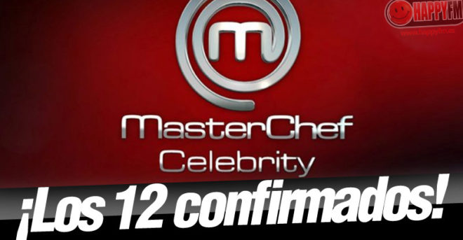 Estos son los 12 concursantes confirmados para 'MasterChef Celebrity 3'