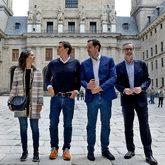 Inés Arrimadas, Albert Rivera, Ignacio Aguado y José Manuel...