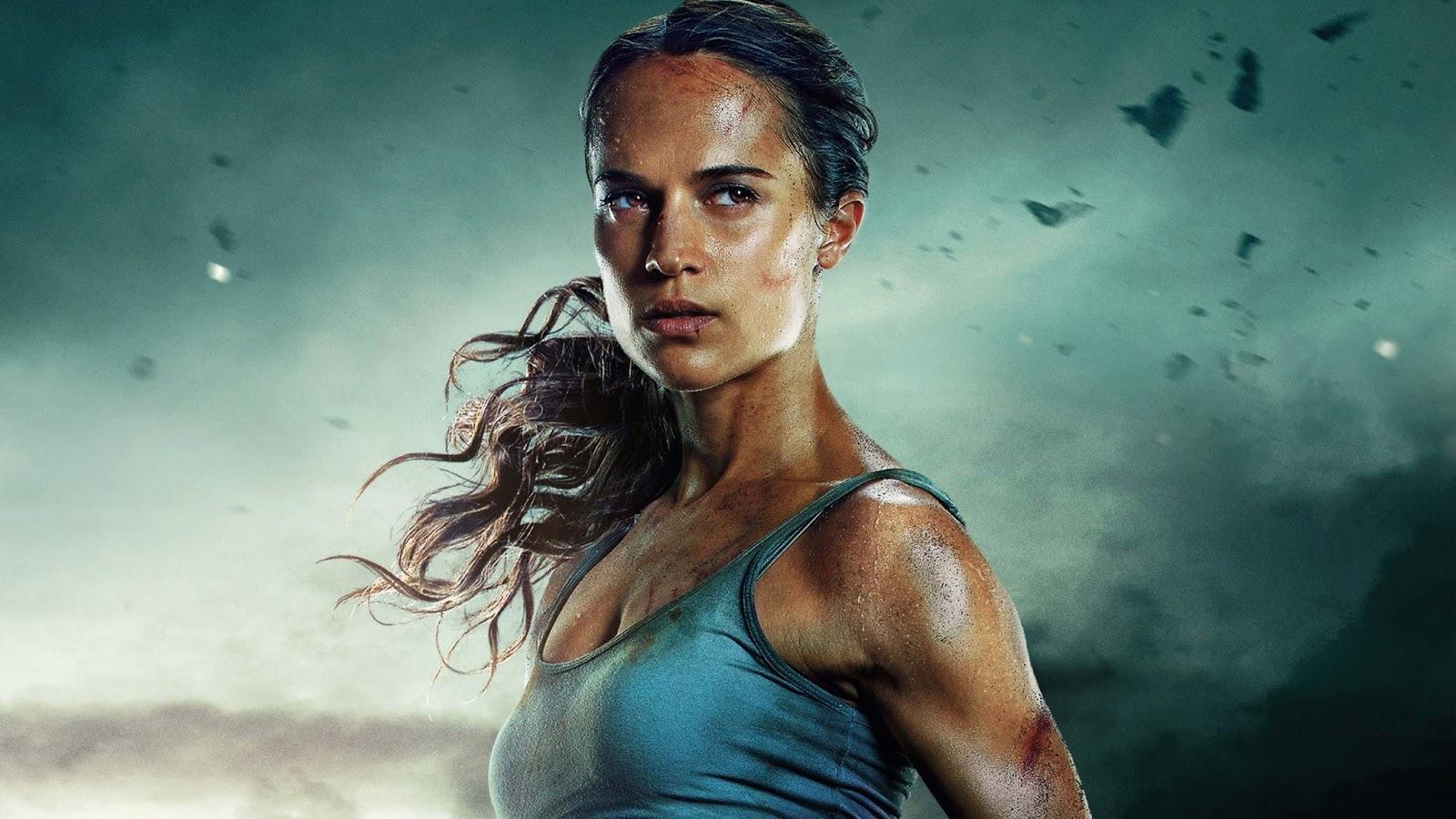La nueva Lara Croft es menos explosiva y más guerrera.