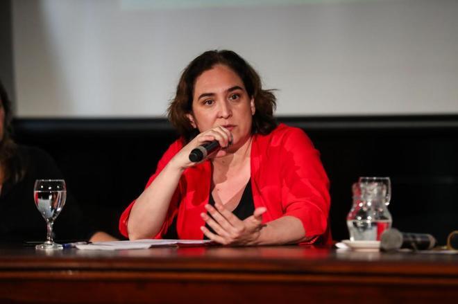 La alcaldesa de Barcelona, Ada Colau, en una imagen reciente en Montevideo (Uruguay).