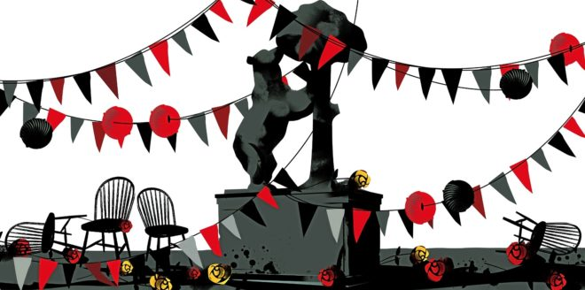 Sant Jordi y el 2 de Mayo, dos fiestas en crisis