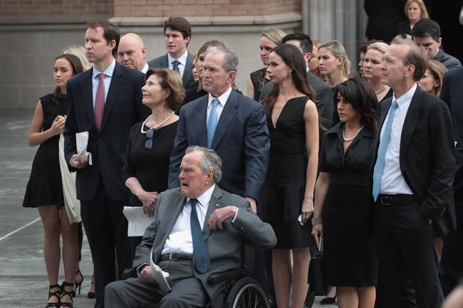 Donald Trump no acude al funeral de Barbara Bush