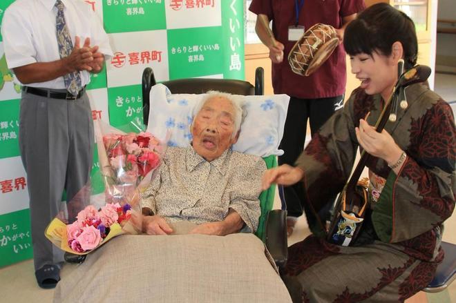 Muere en Japón la mujer más anciana del mundo