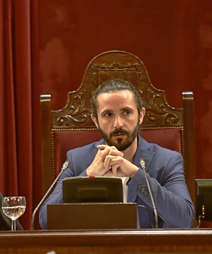 El presidente del Parlament balear, Baltasar Picornell.