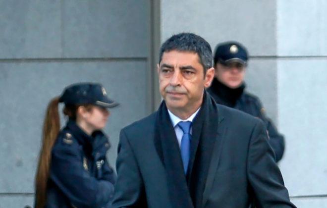 El ex mayor de los Mossos d' Esquadra, Josep Lluís Trapero