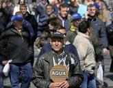Manifestación de los regantes del Levante en Madrid
