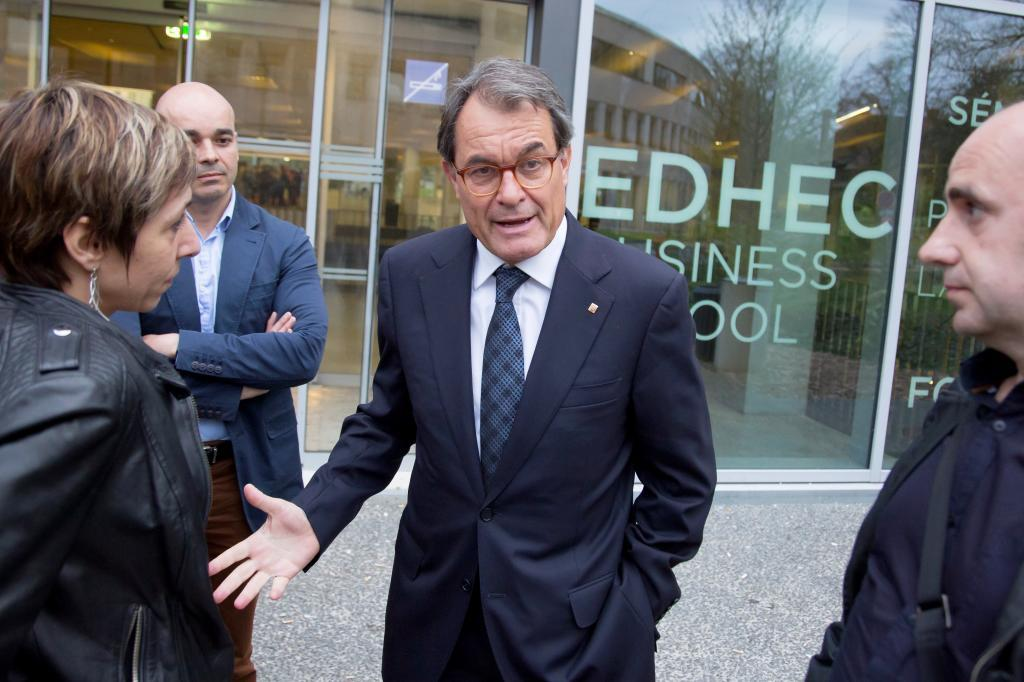 El ex presidente de la Generalitat Artur Mas en una imagen de archivo de hace dos semanas en Lille