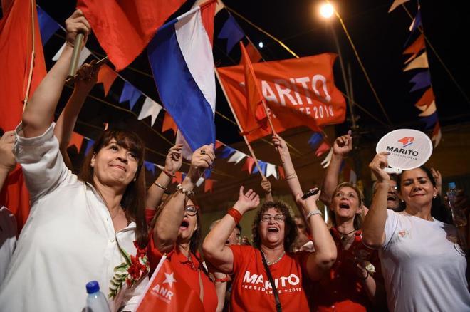 Abdo Benítez se llevaría la victoria en las presidenciales con un 47% de los votos