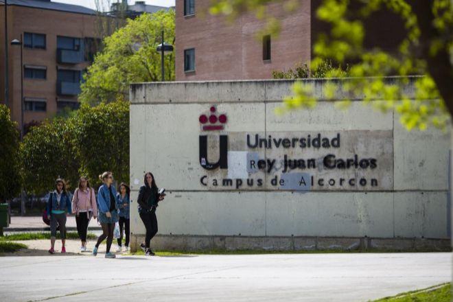 Campus en Alcorcón de la Universidad Rey Juan Carlos (Madrid)